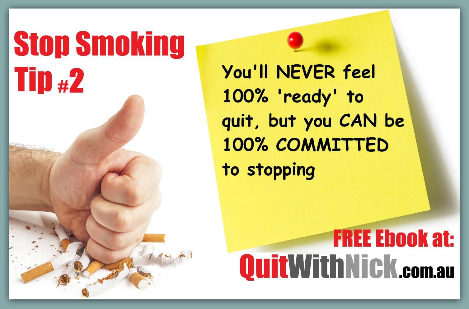 QuitWithNick Stop Smoking Tip #2
