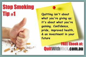 QuitWithNick Stop Smoking Tip #1