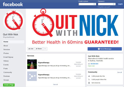 facebook-quit-with-nick I Want To Quit Smoking | QuitWithNick Articles & Blog